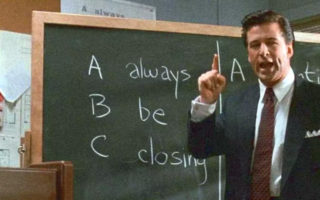 Always be closing meet your market vente B2B