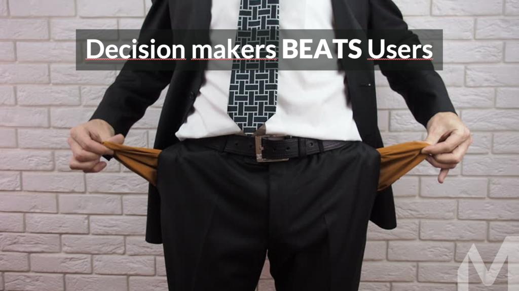 Customer Centric Selling Decisionnaires et utilisateurs