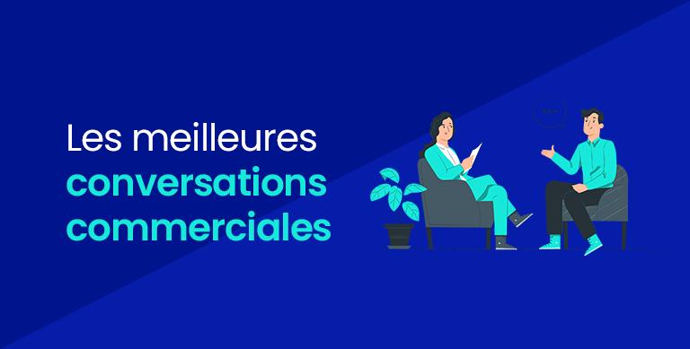 Couverture-Les meilleures conversations commerciales-illustration
