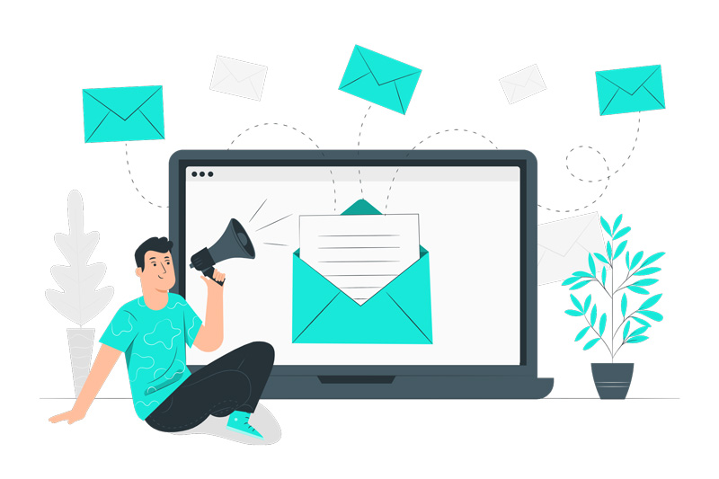 support de vente : email de prospection